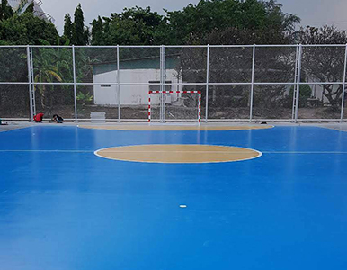 Futsal soccor goal joint and screw