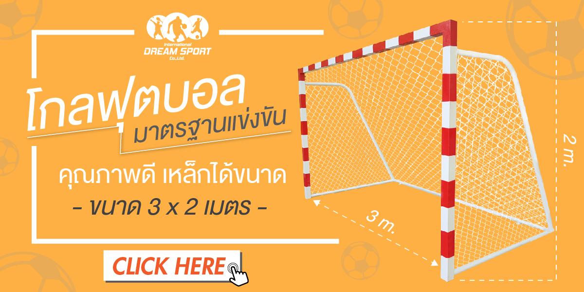 โกลฟุตซอล ขนาดมาตรฐาน การกีฬาแห่งประเทศไทย